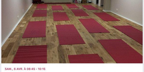 Atelier samedi 16 Novembre yoga chikitsa : la première série guidée en entier.