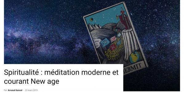 Spiritualité et méditation, par Arnaud Kancel.