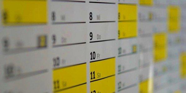 Dates des congés et fermetures